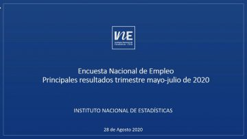 280820-01 ENCUESTA NACIONAL DE EMPLEO