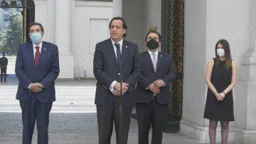 201020-05 VOCERIA MINISTRO DEL INTERIOR SERVEL (VÍCTOR PEREZ-MINISTRO DEL INTERIOR)