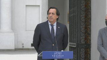 261020-03 PUNTO PRENSA MINISTROS POST CONSEJO DE GABINETE 01 (VÍCTOR PÉREZ-MINISTRO DEL INTERIOR)