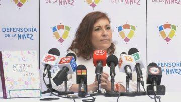201120-03 INFORME ANUAL DEFENSORÍA DE LA NIÑEZ (PATRICIA MUÑOZ-DEFENSORA DE LA NIÑEZ)