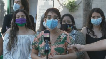 141220-02 COMITE POLÍTICO FEMINISTA 01 (KARINA OLIVA-CANDIDATA A GOBERNADORA POR LA REGIÓN METROPOLITANA)