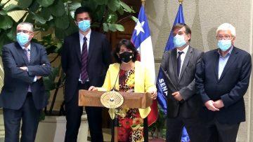 YASNA PROVOSTE-DIEGO PAULSEN ACUERDO DE TRABAJO EN CONJUNTO CON CÁMARA