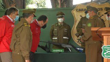 060421-07 PUNTO DE PRENSA SUBSECRETARIO GALLI POR ARMAS INACUTADAS EN TRAIGUÉN 04
