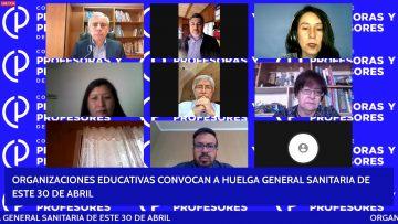 280421-05 ORGANIZACIONES EDUCATIVAS CONVOCAN A HUELGA GENERAL 05