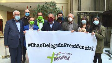 VOCERÍA DIPUTADOS OPOSICIÓN PARA DEROGAR FIGURA DEL DELEGADO PRESIDENCIAL